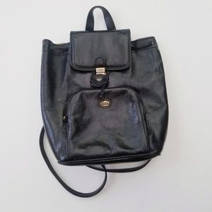 Vintage genuine leather backpack